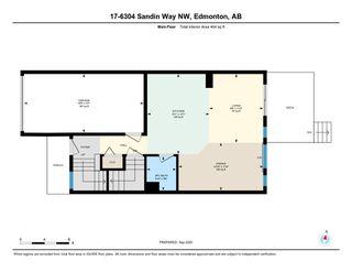 Photo 39: 17 6304 SANDIN Way in Edmonton: Zone 14 House Half Duplex for sale : MLS®# E4214065