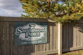 Photo 38: 17 6304 SANDIN Way in Edmonton: Zone 14 House Half Duplex for sale : MLS®# E4214065