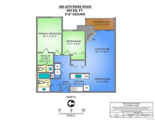 Photo 2: 309 3270 Ross Rd in : Na Uplands Condo for sale (Nanaimo)  : MLS®# 857649