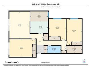 Photo 27: 305 10145 113 Street in Edmonton: Zone 12 Condo for sale : MLS®# E4224764