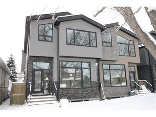 Photo 1: 327 18 Avenue NW in CALGARY: Mount Pleasant Residential Attached for sale (Calgary)  : MLS®# C3592843