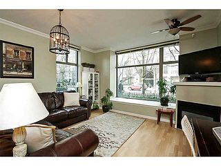 "Photo 3: 104 928 RICHARDS Street in Vancouver: Yaletown Townhouse for sale in ""THE SAVOY"" (Vancouver West)  : MLS®# V1050267"