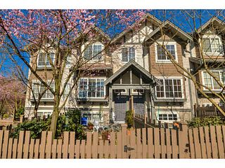"Photo 1: 9183 CAMERON Street in Burnaby: Sullivan Heights Townhouse for sale in ""STONEBROOK"" (Burnaby North)  : MLS®# V1111130"