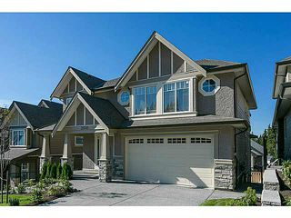 Photo 1: 3526 CHANDLER Street in Coquitlam: Burke Mountain House for sale : MLS®# V1126242