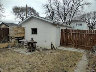 Photo 14: 1115 Spruce Street in Winnipeg: West End / Wolseley Residential for sale (West Winnipeg)  : MLS®# 1606852