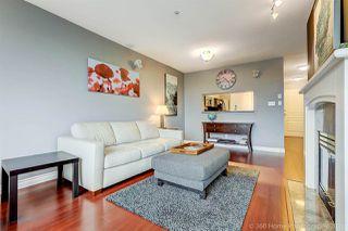 "Photo 2: 209 8420 JELLICOE Street in Vancouver: Fraserview VE Condo for sale in ""BOARDWALK"" (Vancouver East)  : MLS®# R2246655"