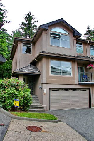 """Photo 1: 17 2951 PANORAMA Drive in Coquitlam: Westwood Plateau Townhouse for sale in """"STONE GATE ESTATES"""" : MLS®# R2308883"""