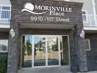 Photo 1: 106 9910 107 Street: Morinville Condo for sale : MLS®# E4150227