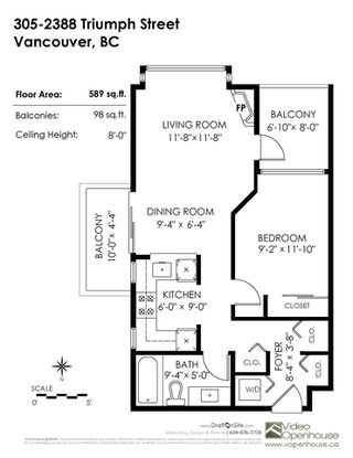 """Photo 16: 305 2388 TRIUMPH Street in Vancouver: Hastings Condo for sale in """"ROYAL ALEXANDRA"""" (Vancouver East)  : MLS®# R2361468"""