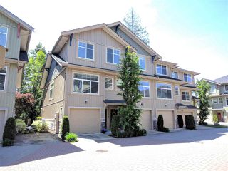 "Photo 1: 22 20966 77A Avenue in Langley: Willoughby Heights Townhouse for sale in ""NATURE'S WALK"" : MLS®# R2370750"