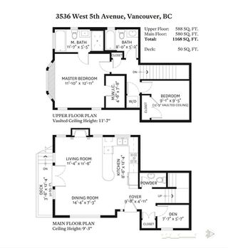 Photo 15: 3536 W 5TH Avenue in Vancouver: Kitsilano Townhouse for sale (Vancouver West)  : MLS®# R2409542