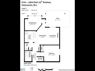 """Photo 20: 120 2960 E 29TH Avenue in Vancouver: Collingwood VE Condo for sale in """"Heritage Park"""" (Vancouver East)  : MLS®# R2430286"""