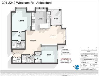 "Photo 25: 301 2242 WHATCOM Road in Abbotsford: Abbotsford East Condo for sale in ""Waterleaf"" : MLS®# R2477896"