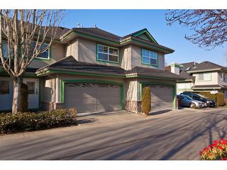 "Photo 1: 53 8111 160TH Street in Surrey: Fleetwood Tynehead Townhouse for sale in ""Coyote Ridge"" : MLS®# F1110791"