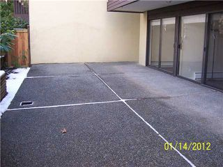 Photo 1: # 106 720 8TH AV in New Westminster: Uptown NW Condo for sale : MLS®# V925475