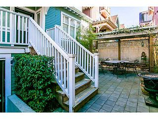 "Photo 15: 1 1624 GRANT Street in Vancouver: Grandview VE Townhouse for sale in ""GRANTS PLACE"" (Vancouver East)  : MLS®# V1046767"
