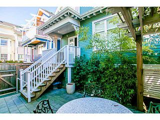 "Photo 14: 1 1624 GRANT Street in Vancouver: Grandview VE Townhouse for sale in ""GRANTS PLACE"" (Vancouver East)  : MLS®# V1046767"