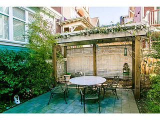 "Photo 16: 1 1624 GRANT Street in Vancouver: Grandview VE Townhouse for sale in ""GRANTS PLACE"" (Vancouver East)  : MLS®# V1046767"