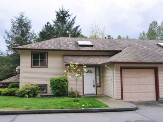 "Photo 1: 24 21960 RIVER Road in Maple Ridge: West Central Townhouse for sale in ""FOXBOROUGH"" : MLS®# V1062088"
