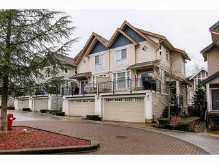 "Photo 1: 21 20120 68TH Avenue in Langley: Willoughby Heights Townhouse for sale in ""THE OAKS"" : MLS®# F1430505"