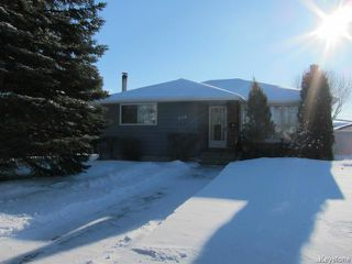 Photo 1: 438 Neil Avenue in WINNIPEG: East Kildonan Residential for sale (North East Winnipeg)  : MLS®# 1503589
