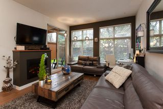 "Photo 1: 103 201 MORRISSEY Road in Port Moody: Port Moody Centre Condo for sale in ""LIBRA"" : MLS®# R2125986"
