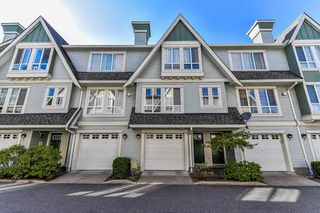 "Photo 1: 3 16388 85 Avenue in Surrey: Fleetwood Tynehead Townhouse for sale in ""Camelot"" : MLS®# R2205719"