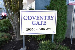 "Photo 1: 109 20350 54 Avenue in Langley: Langley City Condo for sale in ""Coventry Gate"" : MLS®# R2221883"