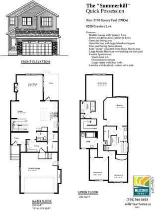 Photo 30: 6329 CRAWFORD Link in Edmonton: Zone 55 House for sale : MLS®# E4155414