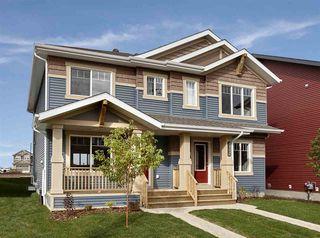 Photo 1: 2815 CHOKECHERRY Place in Edmonton: Zone 53 House Half Duplex for sale : MLS®# E4159742