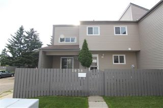Photo 1: 1636 LAKEWOOD Road W in Edmonton: Zone 29 Townhouse for sale : MLS®# E4208457