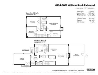 Photo 33: 104 3031 WILLIAMS ROAD in Richmond: Seafair Townhouse for sale : MLS®# R2513589