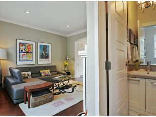 """Photo 10: 40 2925 KING GEORGE Boulevard in Surrey: King George Corridor Townhouse for sale in """"Keystone"""" (South Surrey White Rock)  : MLS®# F1322454"""