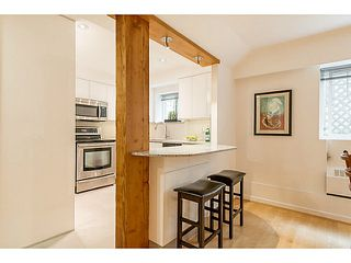 """Photo 5: 102 1545 W 13TH Avenue in Vancouver: Fairview VW Condo for sale in """"THE LEICESTER"""" (Vancouver West)  : MLS®# V1127136"""