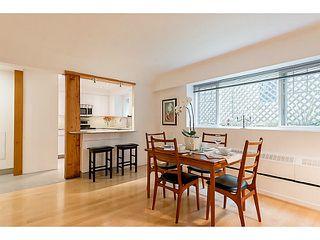 """Photo 4: 102 1545 W 13TH Avenue in Vancouver: Fairview VW Condo for sale in """"THE LEICESTER"""" (Vancouver West)  : MLS®# V1127136"""