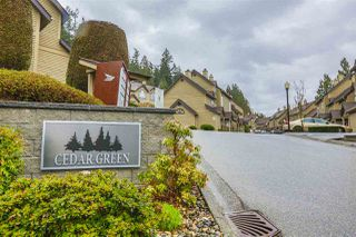 "Photo 1: 33 2736 ATLIN Place in Coquitlam: Coquitlam East Townhouse for sale in ""CEDAR GREEN ESTATES"" : MLS®# R2040870"