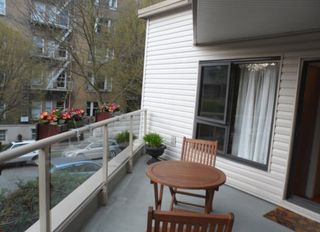 "Photo 18: 213 1080 BROUGHTON Street in Vancouver: West End VW Condo for sale in ""BROUGHTON TERRACE"" (Vancouver West)  : MLS®# R2048988"