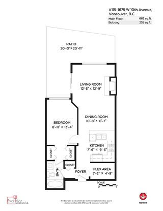 """Photo 16: 115 1675 W 10TH Avenue in Vancouver: Fairview VW Condo for sale in """"NORFOLK HOUSE"""" (Vancouver West)  : MLS®# R2086352"""