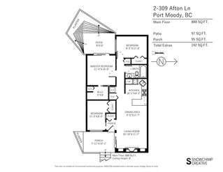 """Photo 20: 2 309 AFTON Lane in Port Moody: North Shore Pt Moody Townhouse for sale in """"Highland Park"""" : MLS®# R2176738"""