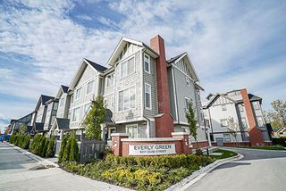 "Main Photo: 58 8217 204B Street in Langley: Willoughby Heights Townhouse for sale in ""Everly Green"" : MLS®# R2214561"