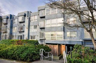 "Photo 1: 208 2133 DUNDAS Street in Vancouver: Hastings Condo for sale in ""HARBOUR GATE"" (Vancouver East)  : MLS®# R2227783"