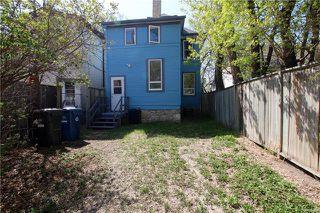 Photo 20: 249 Ruby Street in Winnipeg: Wolseley Residential for sale (5B)  : MLS®# 1806345