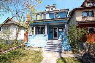 Photo 1: 249 Ruby Street in Winnipeg: Wolseley Residential for sale (5B)  : MLS®# 1806345