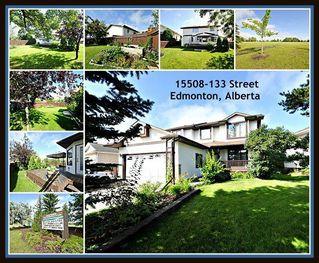 Main Photo: 15508 133 Street in Edmonton: Zone 27 House for sale : MLS®# E4134912