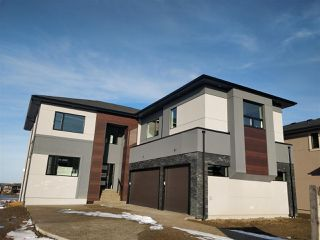 Main Photo: 4910 WOOLSEY Court in Edmonton: Zone 56 House for sale : MLS®# E4136495