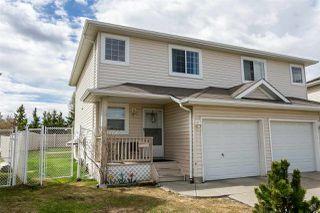 Photo 1: 6829 159A Avenue in Edmonton: Zone 28 House Half Duplex for sale : MLS®# E4155661