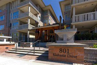 "Photo 1: 423 801 KLAHANIE Drive in Port Moody: Port Moody Centre Condo for sale in ""Inglenook"" : MLS®# R2374740"