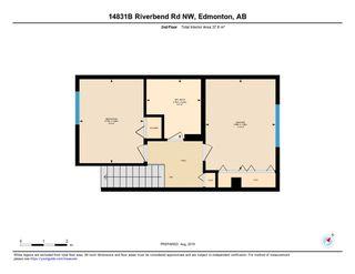 Photo 29: 14831B RIVERBEND Road in Edmonton: Zone 14 Townhouse for sale : MLS®# E4171251