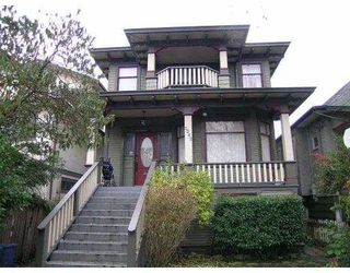 Main Photo: 3262 FLEMING ST in Vancouver: Knight House for sale (Vancouver East)  : MLS®# V565559