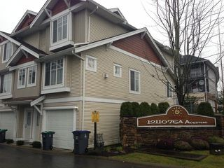 "Photo 1: # 96 12110 75A AV in Surrey: West Newton Townhouse for sale in ""MANDALAY VILLAGE"" : MLS®# F1325078"